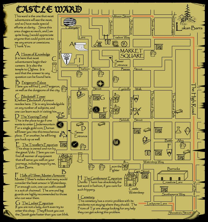 Dungeons And Dragons Forgotten Realms Map – Jerusalem House