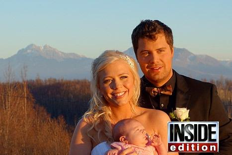Levi Johnston-Sunny Oglesby Wedding Photos: So Happy Together!