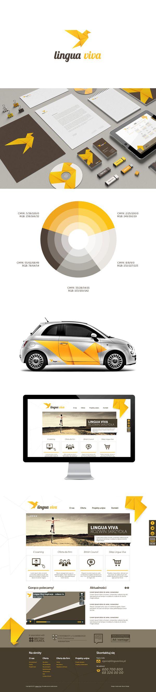 Lingua Viva Identity {branding} | #stationary #corporate #design #corporatedesign #identity #branding #marketing < repinned by www.BlickeDeeler.de | Take a look at www.LogoGestaltung-Hamburg.de