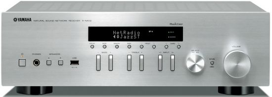yamaha r n402 stereo receiver review and test hi fi. Black Bedroom Furniture Sets. Home Design Ideas