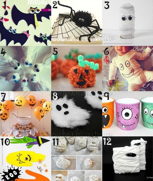 LUNAdei Creativi | Halloween e Lavoretti per Bambini: 12 Idee Facili