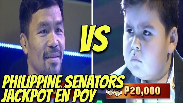 Eat Bulaga - Jackpot En Poy  | March 25,  2017 - WATCH VIDEO HERE -> http://philippinesonline.info/trending-video/eat-bulaga-jackpot-en-poy-march-25-2017/   Mga Senators na sina Senator Sonny Angara,  Senator JV Ejercito, Senator Gringo Honasan at Senator Manny Pacquaio ang naglaro ngayon sa pinaka intense na laro sa telebisyon Jackpot En Poy sa Eat Bulaga, March 25, 2017 Disclaimer: This video is for entertainment purposes only. All rights...
