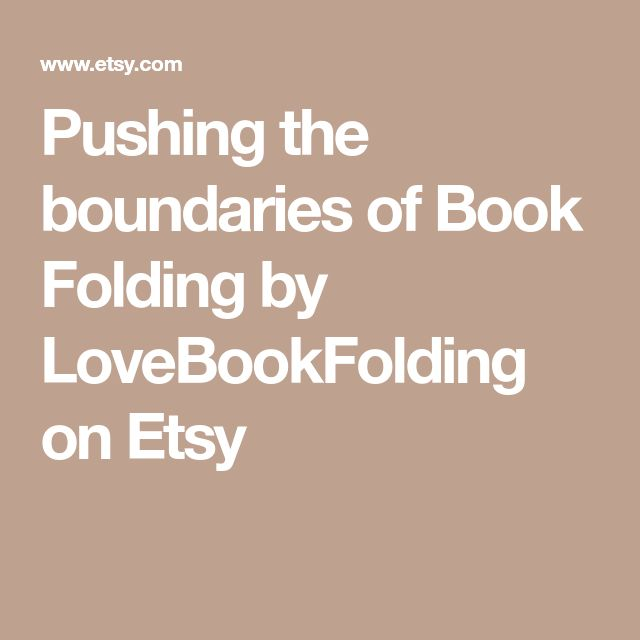 Pushing the boundaries of Book Folding by LoveBookFolding on Etsy