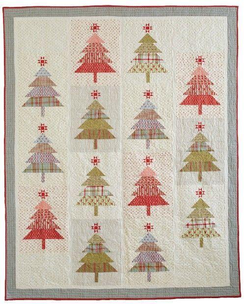 Santa's Tree Farm Quilt Pattern