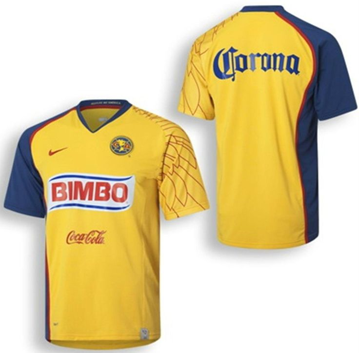 NIKE CLUB AMERICA AGUILAS HOME JERSEY 2007/08.