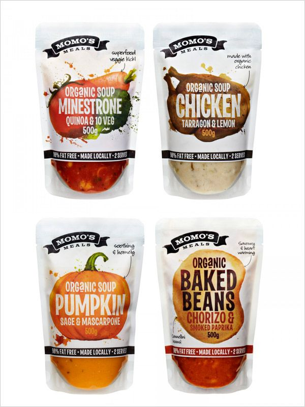 Momo meals Soup packaging design range a 20 Cool  Creative Food Packaging Design Assemblage For Inspiration