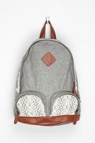 Kimchi Blue Overdyed Lace Backpack