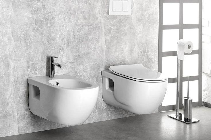 BRILLA závěsné WC rimless, 36,5x53 cm, SAPHO E-shop