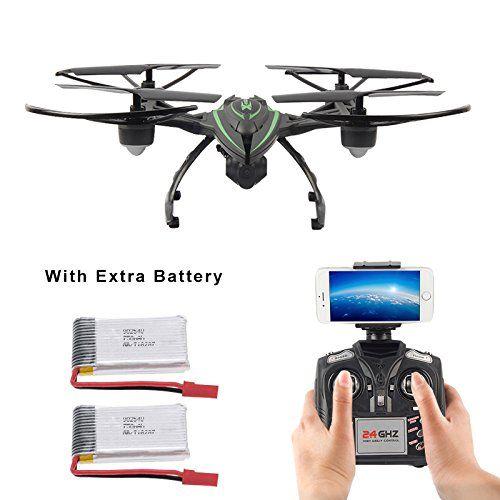 Mattheytoys JXD 510W 2.4G WIFI transmisión en tiempo real con aviones no tripulados de la cámara HD Modo de Alta Retención RC Quadcopter con 2 Pilas extra - http://www.midronepro.com/producto/mattheytoys-jxd-510w-2-4g-wifi-transmision-en-tiempo-real-con-aviones-no-tripulados-de-la-camara-hd-modo-de-alta-retencion-rc-quadcopter-con-2-pilas-extra/