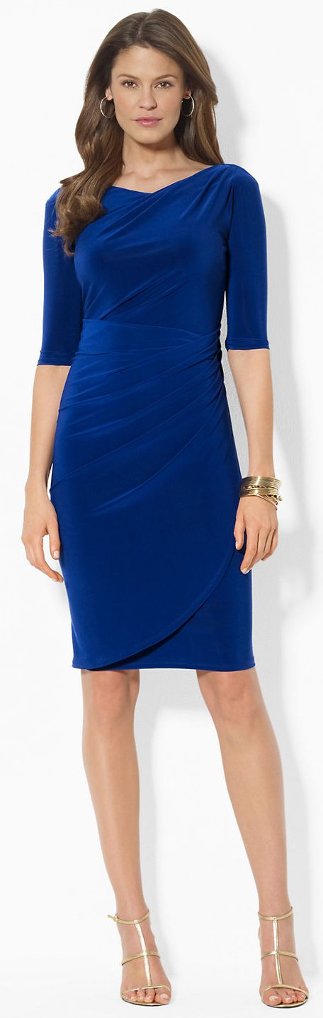 Ralph Lauren Pleated Dress