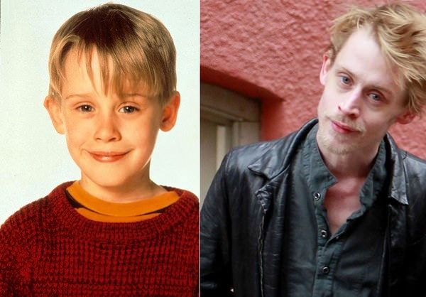Macaulay Carson Culkin is an American actor and musician. He became famous for his role as Kevin McCallister in Home Alone and Home Alone 2: Lost in New York. He was born on August 26, 1980. Some problems with drugs and alcohol made his face change and nowadays he looks very different from the cute kid he was in the past.