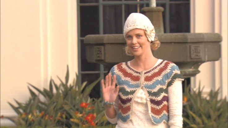 Charlize Theron's shrug in arrested development
