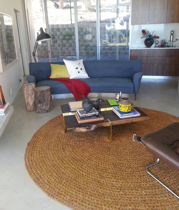 Our Outdoors Rug in Natural Hemp