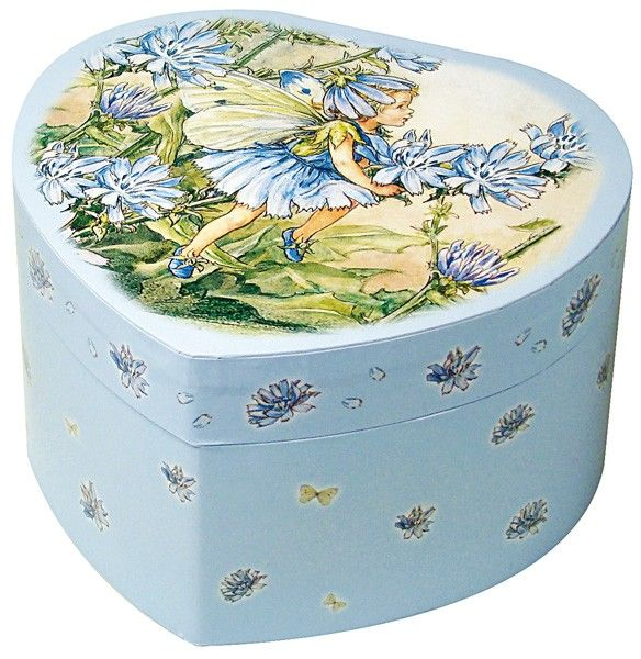 Trousselier Spieluhr Herz Blumenfee blau - Bonuspunkte sammeln, auf Rechnung bestellen, DHL Blitzlieferung!