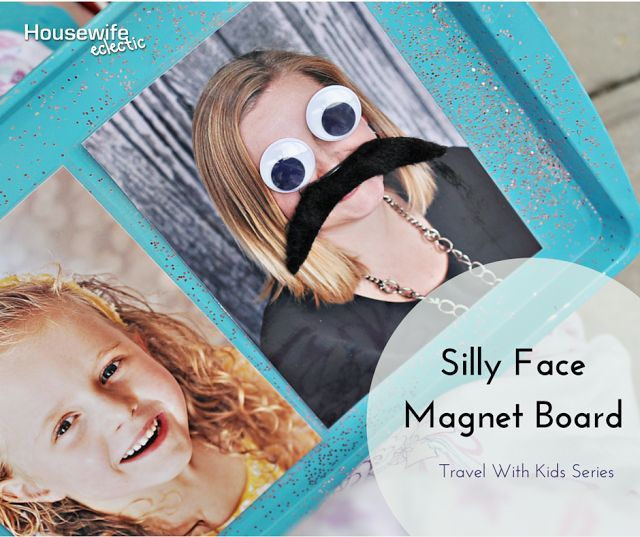 Housewife Eclectic: Silly Face Magnet Board