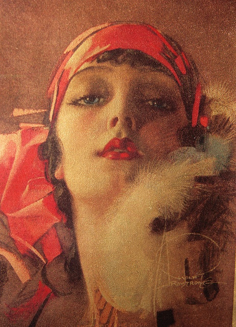 Rolf Armstrong illustration gorgeousness