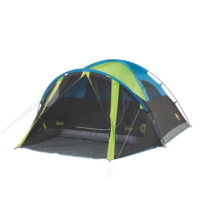 Coleman - Tents for Camping | 4 Person Dome Tent | Coleman - Carlsbad™ 4-Person Dome Tent with Screen Room