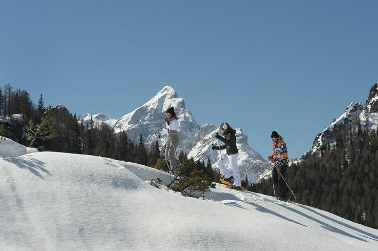 Snow Shoes / Racchette da Neve #SelvadiCadore #dolomitistars