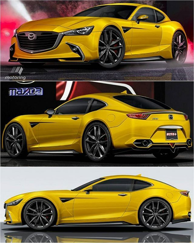 The RX-9, a sub-1300kg, 300kW rear-drive rotary coupe due in 2019-2020…
