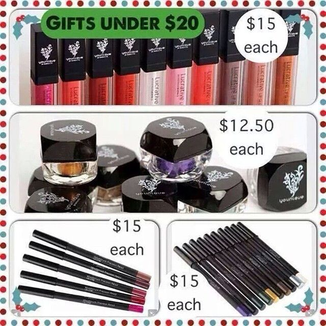 Younique Products Under $20! Great Gifts For Any Occasion