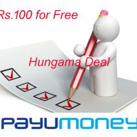 Live Again : Get free Rs.100 PayUMoney Balance for Completing a survey