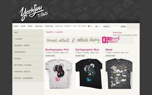 The Big Showcase Of Online T-Shirt Stores – Smashing Magazine