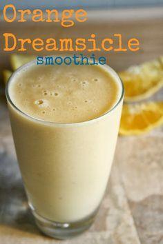 "Orange Vanilla ""Dreamsicle"": 1 scoop Juice Plus+ Complete French Vanilla, 1/2 cup hemp milk or almond milk, 1 whole orange (peeled and cut into chunks), 1/4 teaspoon pure lemon extract, 1/4 cup water, 1 tablespoon hemp seeds. Blend 30-40 seconds. Enjoy!"