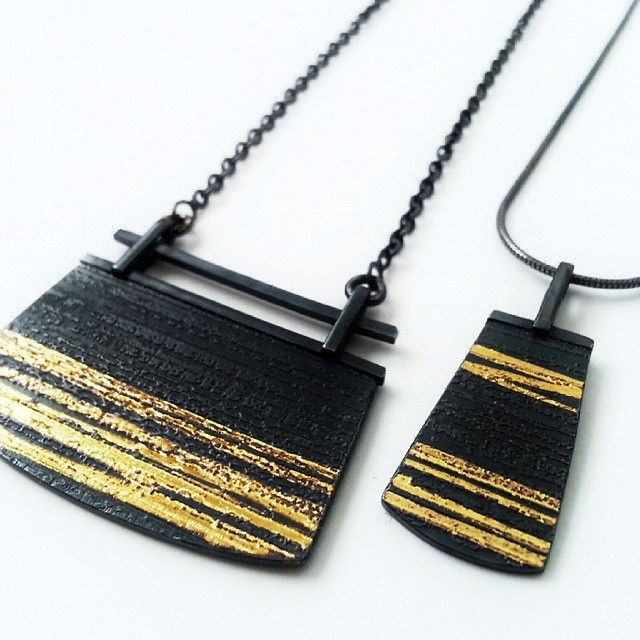 712 best Black Gold jewelry images on Pinterest Jewellery making