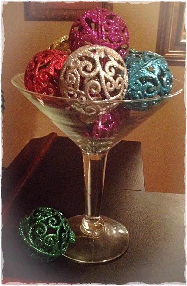 Decorative Ornaments For Living Room: D.I.Y. Christmas Decorations.. Tree Ornaments Used In A