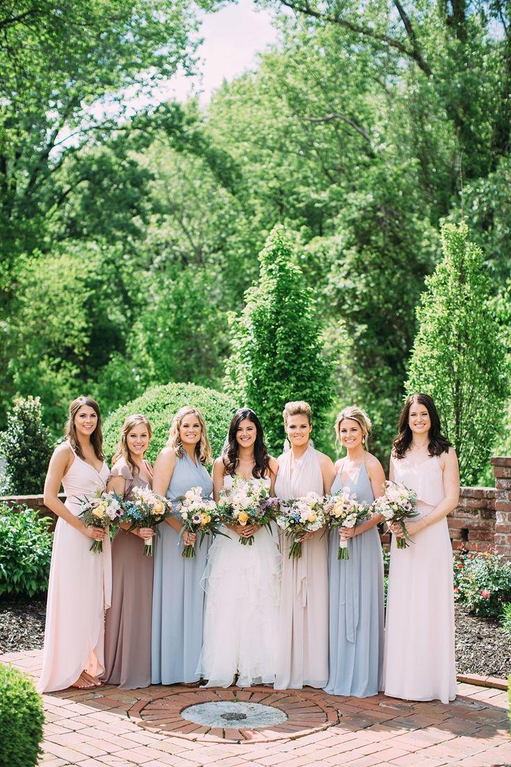 1113 best vintage bridesmaids images on pinterest bridesmaids a relaxed rainy boho vintage wedding in dusky pastels ombrellifo Images