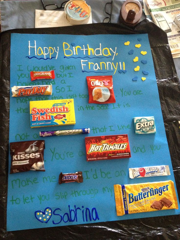 Cute Candy Sayings For Boyfriend Birthday Card : Best images about candy sayings gifts on pinterest