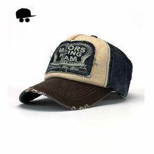 Retro fresco angustiado lleva gorra de béisbol del Snapback de la marca hombres mujeres Retro Snapback sombreros Vintage Van algodón Gorras CB22(China (Mainland))