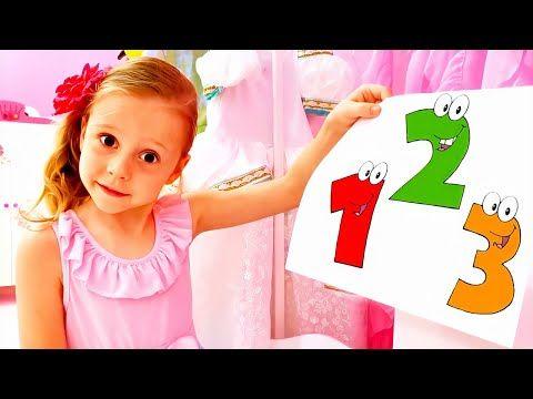 Nastya Aprende A Contar Hasta 10 Y Alfabetos En Inglés Youtube En 2020 Aprende A Contar Juegos Educativos Para Niños Aprender A