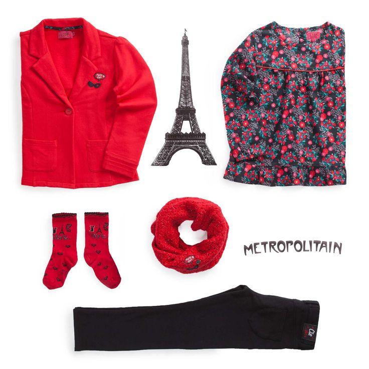 """Look """"Paris Chic by la Cie"""""""