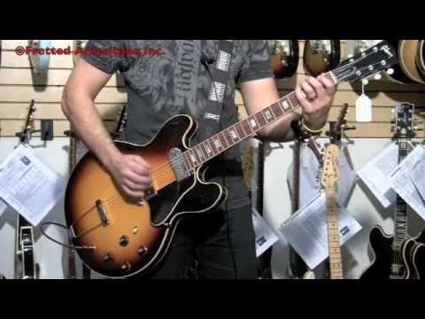1968 Gibson ES-330 TD Custom ES-330 with deep cutaways and no F holes!!!