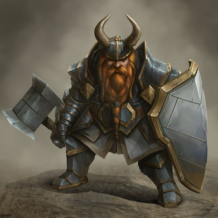 Dwarf Battle Instructor, Joshua Carrenca on ArtStation at https://www.artstation.com/artwork/dwarf-battle-instructor