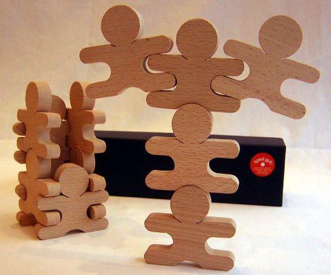 無垢工房の忍者12個セットPre school toys