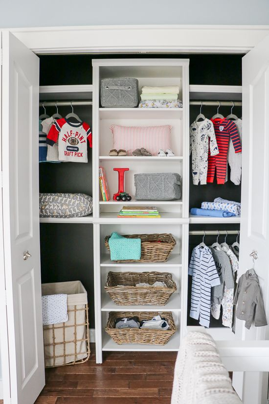 Baby Boy Nursery Reveal - One Room Challenge - Week 7 -