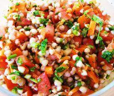 Exquisito Vegetariano!: Ensalada de trigo sarraceno