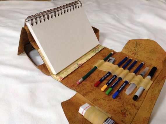 For Hope: This is a travel sized art kit that you can take with you wherever you go. You can sketch, draw or paint with the included watercolor pencils,