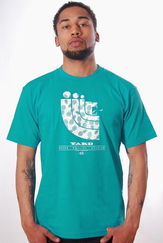 RUM PUNCH, T-Shirt, Aqua