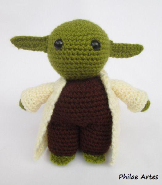 Free Star Wars Yoda Crochet Amigurumi                                                                                                                                                      Mais