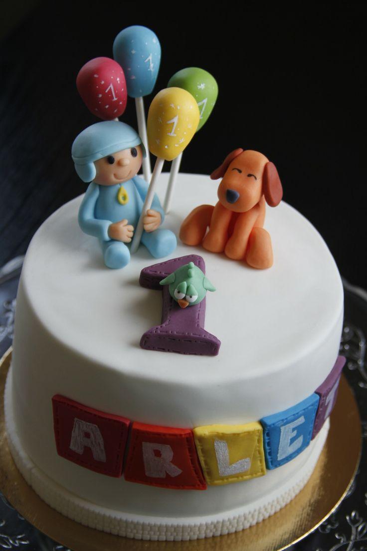 Pocoyo, Lula & Pajaroto Cake