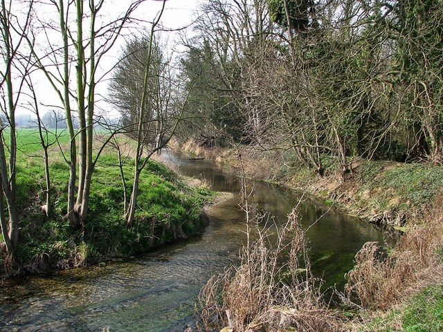 the river cam or granta near sawston the two branches of the cam