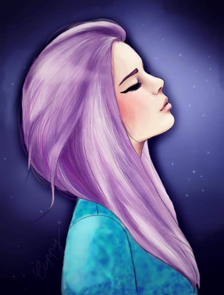 Открытка, крутые картинки на аву для девушек нарисованные