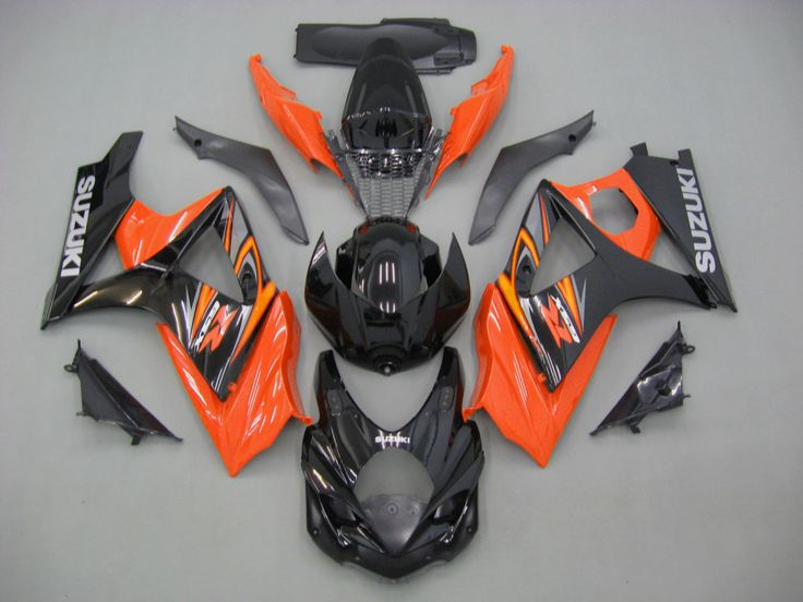 Mad Hornets - Fairings Suzuki GSXR 1000 Black