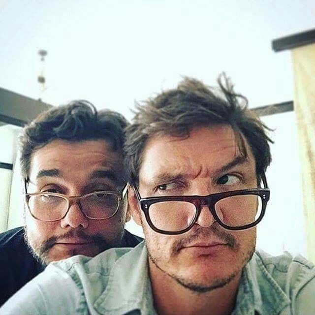 Wagner Moura and Pedro Pascal   NARCOS