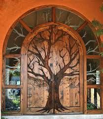Image result for images of wooden chevron doors