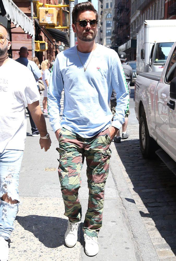 The Best Dressed Men Of The Week: Scott Disick in NYC. #bestdressedmen #scottdisick