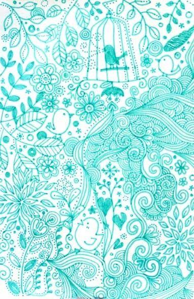 Pretty Blue Backgrounds | blue iPhone wallpaper | Pretty